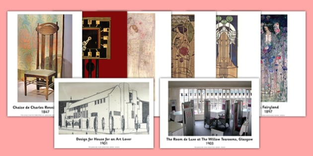 Charles Rennie Mackintosh Photo Pack - cfe, charles rennie mackintosh, photo, pack