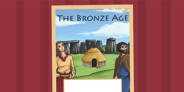 The Bronze Age Book Cover - bronze age, folder cover, history