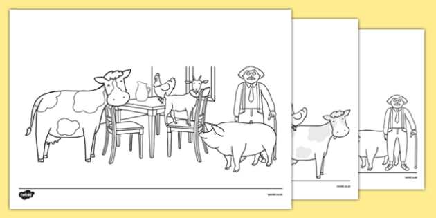 A Tight Squeeze Colouring Sheets - a squash and a squeeze, julia donaldson, a tight squeeze, colouring sheet
