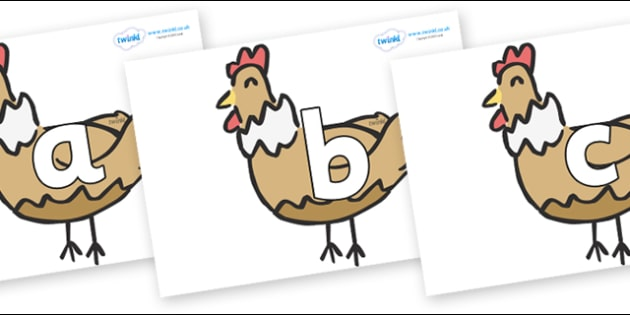 Phoneme Set on French Hens - Phoneme set, phonemes, phoneme, Letters and Sounds, DfES, display, Phase 1, Phase 2, Phase 3, Phase 5, Foundation, Literacy