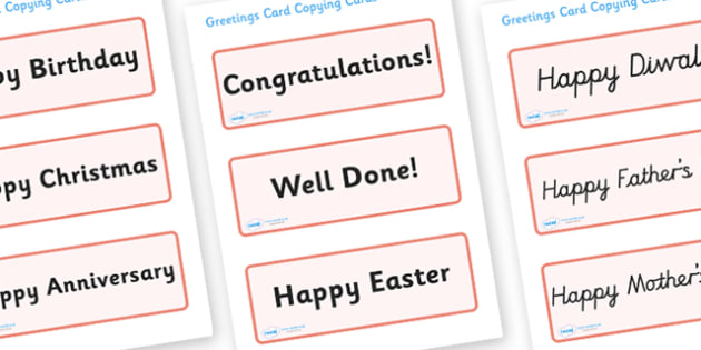 Greetings Card Message Word Cards  - Word cards, Word Card, card template, editable template, card design, design, card, card template, congratulations, thank you, well done, happy birthday, happy Christmas