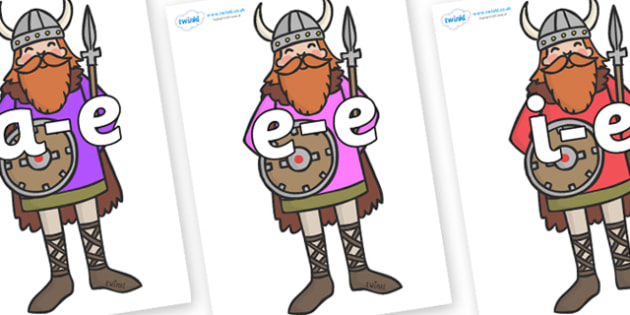 Modifying E Letters on Vikings - Modifying E, letters, modify, Phase 5, Phase five, alternative spellings for phonemes, DfES letters and Sounds