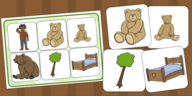 Ive Lost My Teddy Where Is It Matching Cards and Board - where's my teddy, wheres my teddy, wheres my teddy matching game, where's my teddy picture matching activity