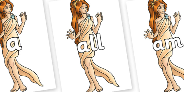 Foundation Stage 2 Keywords on Aphrodite - FS2, CLL, keywords, Communication language and literacy,  Display, Key words, high frequency words, foundation stage literacy, DfES Letters and Sounds, Letters and Sounds, spelling