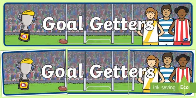 Goal Getters Display Banner-Australia
