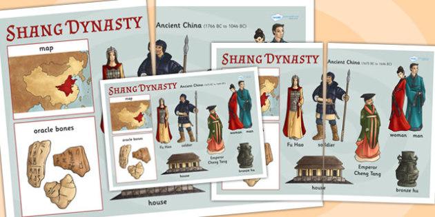 The-Shang Dynasty Large Display Poster - shang dynasty, china