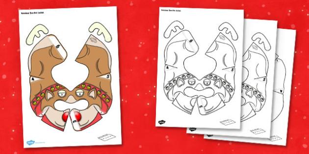Christmas Reindeer Bee-Bot Jacket - christmas, reindeer, beebot, bee bot, bee-bot, jacket