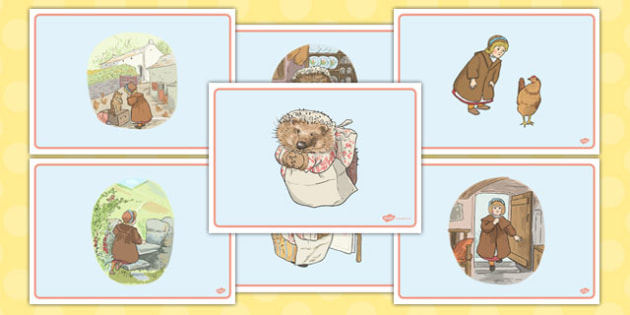 The Tale of Mrs Tiggy Winkle Story Sequencing - mrs tiggy winkle