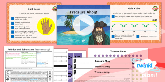 PlanIt Y3 Addition and Subtraction Lesson Pack Add and Subtract Numbers Mentally (5) - Addition and Subtraction, Add and subtract numbers mentally, Add, more, plus, and, altogether, total