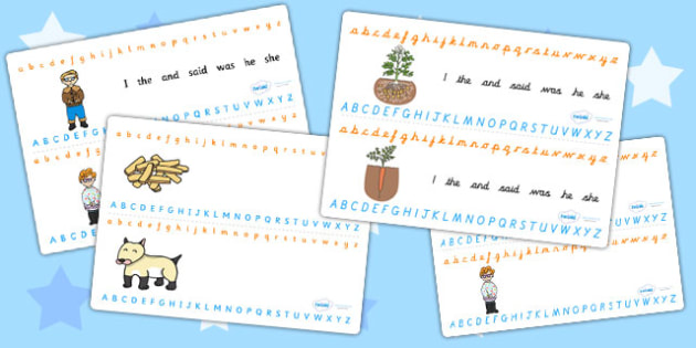 Oliver's Vegetables Alphabet Strips - alphabet, a-z, visual aids