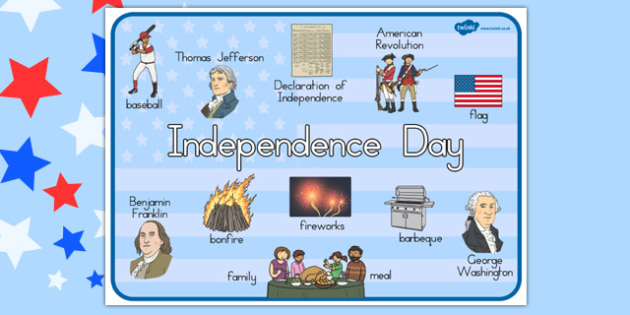 Independence Day Word Mat - independence day, word mat, mat