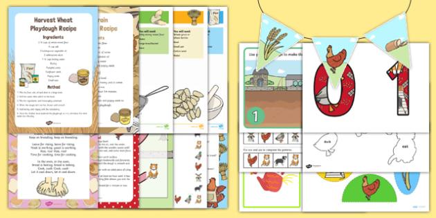 Childminder Little Red Hen Resource Pack