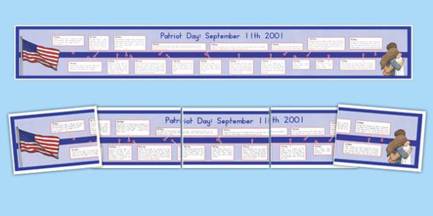 September 11th Display Timeline