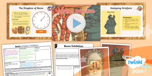 History: Benin: Artefact Exhibition UKS2 Lesson Pack 5