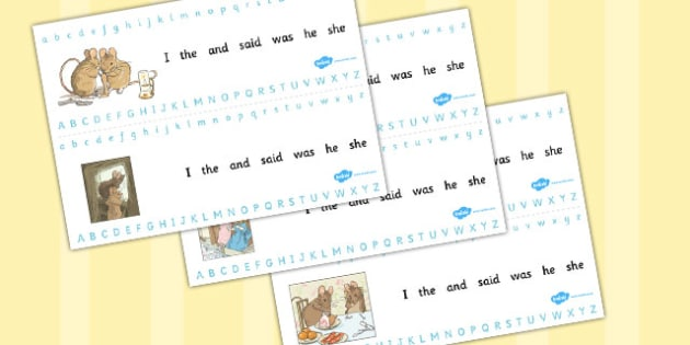 The Tale of Two Bad Mice Alphabet Strips - two bad mice, alphabet