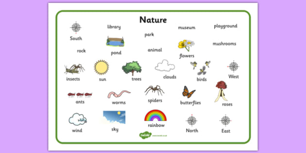 Nature Word Mat - nature, word mat, word, mat, environment, natural, habitat