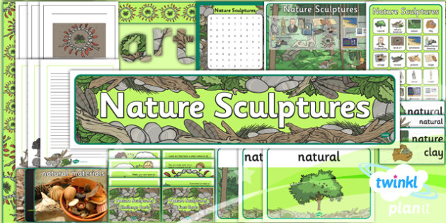 Art: Nature Sculptures KS1 Unit Additional Resources