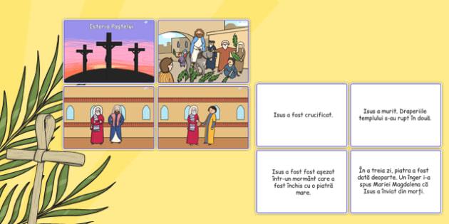 Istoria Pastelui, Joc, Alege imaginea potrivita textului