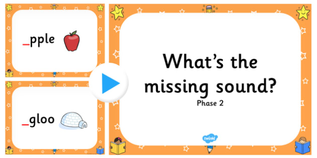 What's The Missing Phase 2 Initial Sound PowerPoint-missing