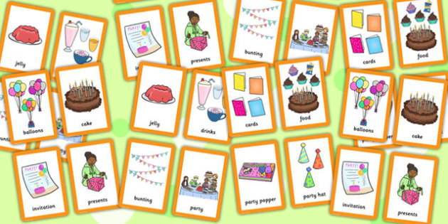 Party Pairs Matching Game - party, pairs, matching, game, match