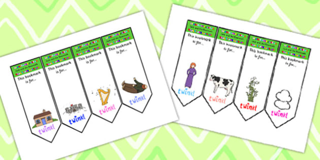 Jack and the Beanstalk Bookmarks - jack and the beanstalk, bookmarks, awards, bookmark awards, books, reading, reward bookmarks, rewards, themed bookmarks
