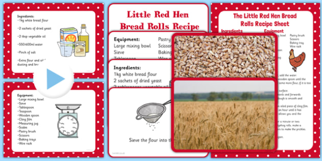Little Red Hen Bread Rolls EYFS Resource Pack - EYFS planning, Early years activities, traditional tales, baking, food