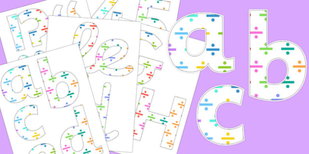 Division Themed Display Lettering - divide, division, letters, display, share
