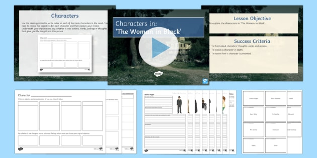 The Woman in Black Characters Resource Pack  - The Woman in Black, characters