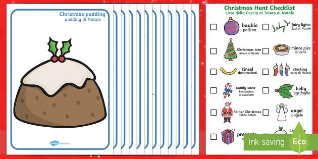 Christmas Hunt Activity Pack English/Italian - Christmas Hunt Activity Pack - christmas, hunt, activity, pack, chritmas, chriatmas, christms, chris