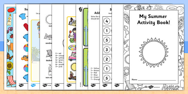 Summer Activity Booklet