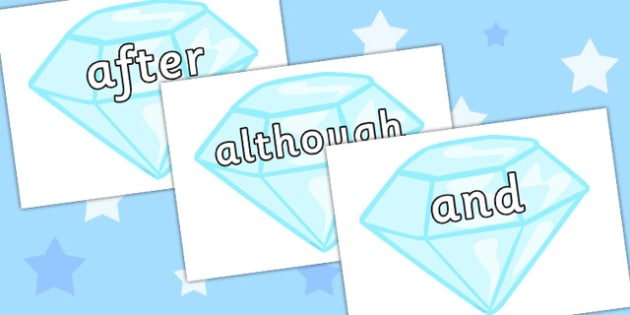 Conjunctions on Diamonds - Display, connectives, cohesive device