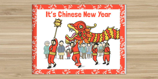 Its Chinese New Year Story eBook - EYFS, KS1, Early Years, festival, celebration, Understanding the World, Literacy
