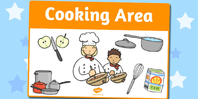 Cooking Area Sign - area, sign, area sign, cooking area, cooking