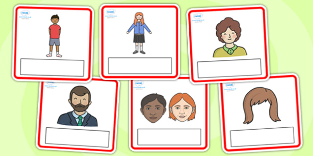Editable My Body Cards - editable, my body, body, cards, editable cards, my body cards, information cards, themed cards, discussion starters, picture cards