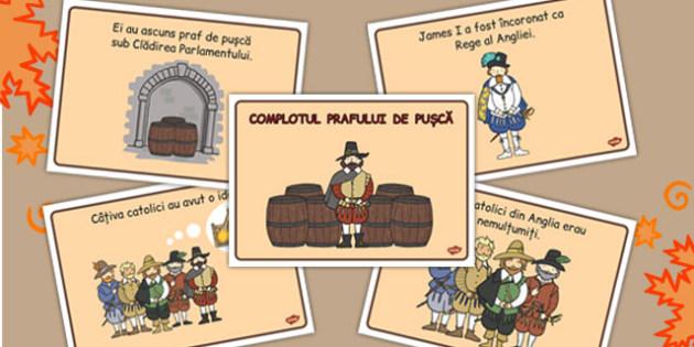 Complotul Prafului de Pusca - poveste imagini, rezumat, istorie, Romanian