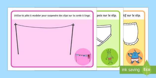 Les extra terrestres adorent les slips Set de pâte à modeler - Les extra-terrestres adorent les slips, pâte à modeler ,French