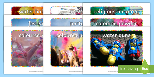 Holi Festival Display Photos - holi, festival, religion, photos