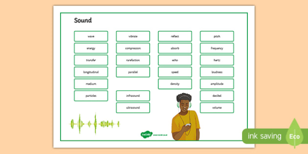 Sound Word Mat