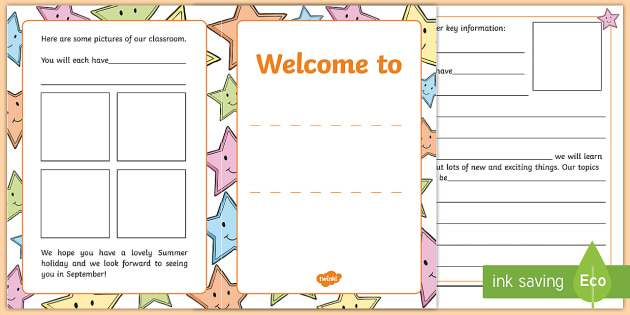 Welcome Booklet for Children - welcome, booklet, children, book