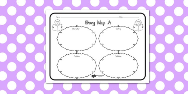 Story Map A Worksheet - australia, story, map, a, worksheet