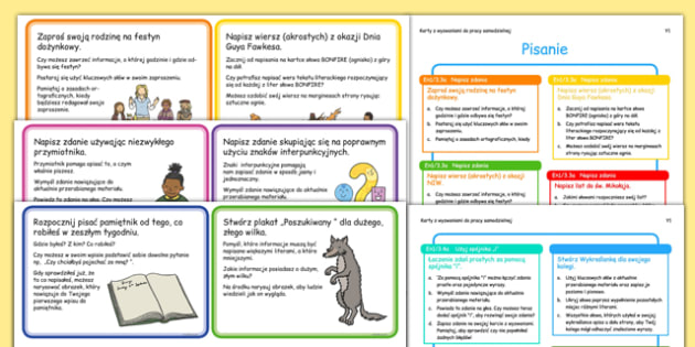 Short Term Continuous Provision Plan Y1 Writing Area Challenges Polish Translation - Polish, Poland, planning, year 1, literacy