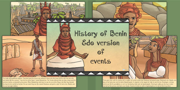 History of Benin Edo Version of Events Creation Story - stories