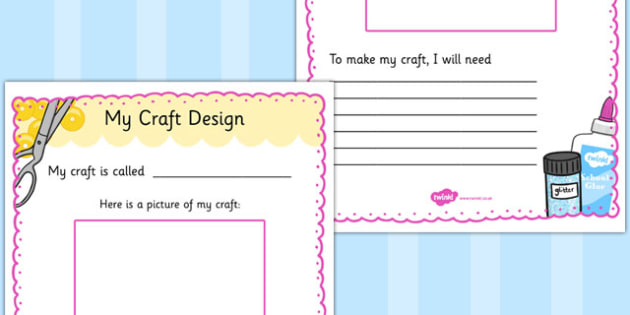 Haberdashery Craft Design Template - haberdashery, craft, design