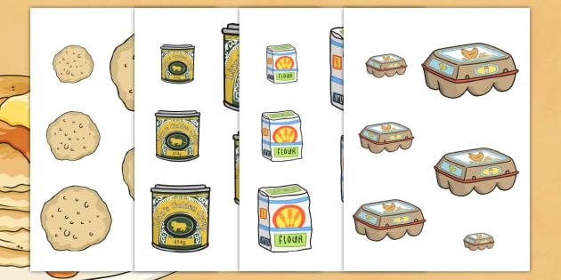 Pancake Size Ordering - pancake, size, shape, order, ordering