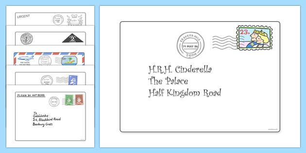 Jolly Postman Letter Writing Lesson