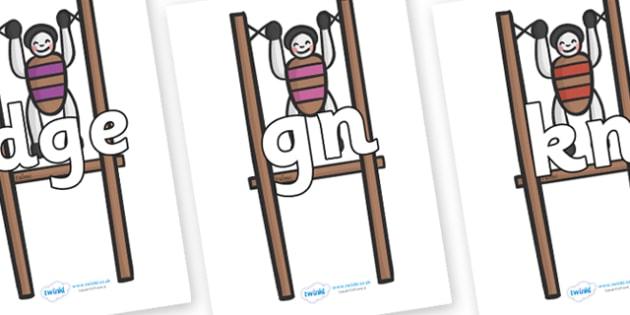 Silent Letters on Toys - Silent Letters, silent letter, letter blend, consonant, consonants, digraph, trigraph, A-Z letters, literacy, alphabet, letters, alternative sounds