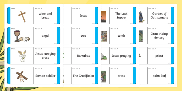 Easter Story Loop Cards - christianity, religion, celebrations