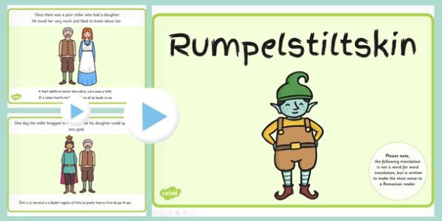 Rumpelstiltskin PowerPoint EAL Romanian Translation - romanian