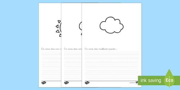 descripciones - El tiempo y las estaciones del año, proyecto, escritura, escribir, describir, descripciones,,Spanis - El tiempo y las estaciones del año, proyecto, escritura, escribir, describir, descripciones, Spanis