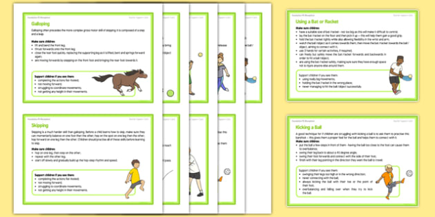 Foundation PE (Reception) – Games - Best of Balls Teacher Support Cards Pack - EYFS, PE, Physical Development, Planning